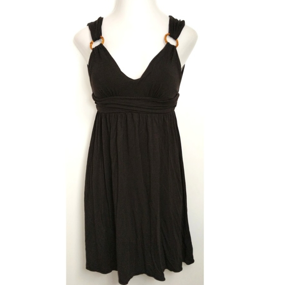 Victoria's Secret Dresses & Skirts - VICTORIA'S SECRET Black Plunge Dress Small